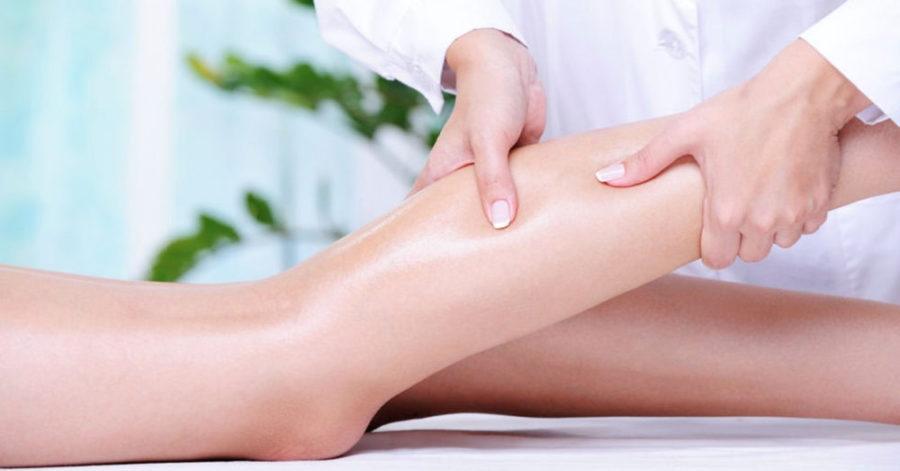 Massaggio arti inferiori